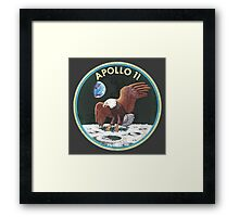 apollo 11 missions Framed Print