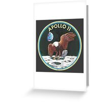 apollo 11 missions Greeting Card