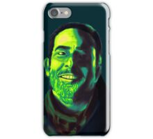 Negan Fanart- Green Ver. iPhone Case/Skin