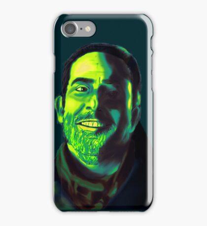 Negan Fanart- Green Ver. iPhone Case/Skin