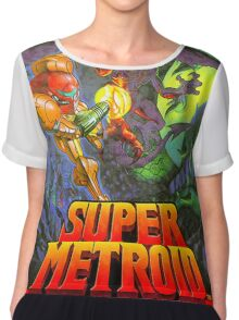 Super Metroid Chiffon Top