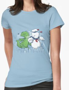 Mallow Titan Womens Fitted T-Shirt