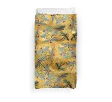 Dragonfly Haze Cloud Duvet Cover