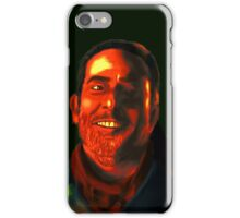 Negan Fanart- Neon Copper Ver. iPhone Case/Skin