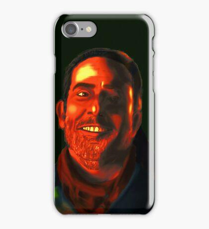 Negan Fanart- Neon Copper Ver. iPhone Case/Skin