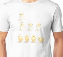 Hatched Chicks - as in baby chickens... Unisex T-Shirt