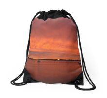 Broadwater Sunrise Drawstring Bag