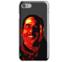 Negan Fanart- Posterized Copper Ver. iPhone Case/Skin