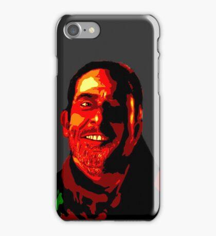 Negan Fanart- Posterized Copper Ver. iPhone Case/Skin