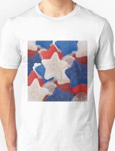 stars and stripes marshmallow wear Unisex T-Shirt