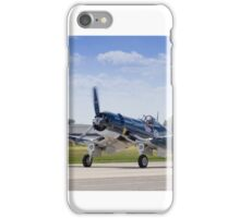 F4U Corsair Taxi Back - CAF Heart of America Wing 2015 Airshow iPhone Case/Skin
