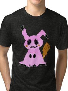 Pokemon Sun and Moon Mimikyuu Tri-blend T-Shirt