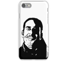 Negan Fanart- Comic Style Ver. iPhone Case/Skin