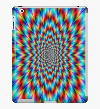 Psychedelic Optical Illusion Rainbow Pattern iPad Case/Skin