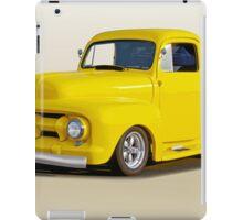 1952 Ford F100 Custom Pickup iPad Case/Skin