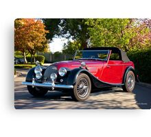 1958 Morgan Plus 4 Drop Head Coupe Canvas Print