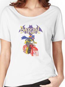 Batgirl on Batbike Women's Relaxed Fit T-Shirt