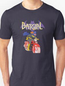 Batgirl on Batbike Unisex T-Shirt