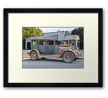 1926 Dodge Bros Touring Sedan Framed Print