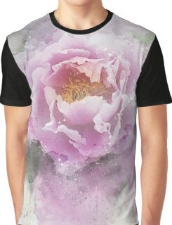 Peony Pink 3 Graphic T-Shirt