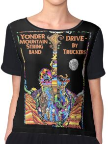 WILLIAMS03 Drive-By Truckers american band Tour 2016 Chiffon Top