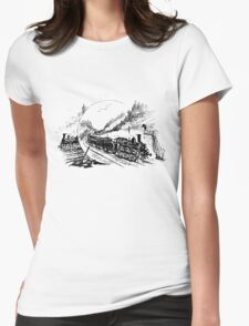 Vintage European Train A5 T-Shirt