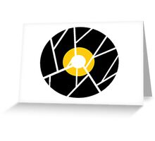 Cracked Vinyl Greeting Card