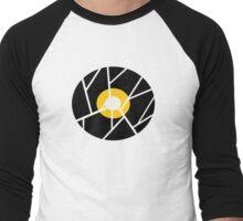 Cracked Vinyl Men's Baseball ¾ T-Shirt