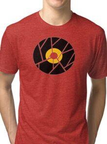 Cracked Vinyl Tri-blend T-Shirt