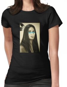 Native Blue Womens Fitted T-Shirt