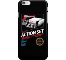 Super Action Set iPhone Case/Skin