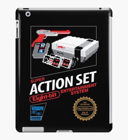 Super Action Set iPad Case/Skin