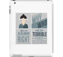 Orphan Black - Beth Childs iPad Case/Skin