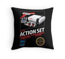Super Action Set Throw Pillow