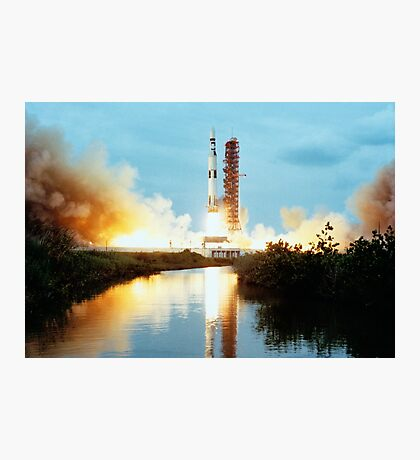 Skylab Space Station - Saturn V Launch Photographic Print