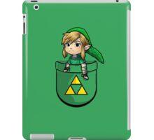 Pocket Link Hero of Time Zelda with Triforce iPad Case/Skin