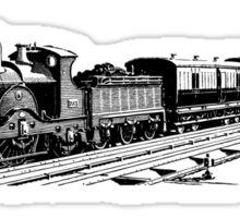 Vintage European Train A9 Sticker