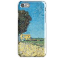 Vincent Van Gogh - Lane Near Arles (Side Of A Country Lane), 1888 iPhone Case/Skin