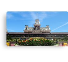 Magic Kingdom Entrance Metal Print