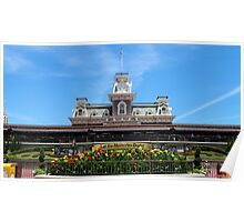 Magic Kingdom Entrance Poster