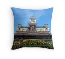 Magic Kingdom Entrance Throw Pillow