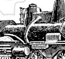 Vintage European Train A10 Sticker