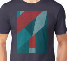 Geometric Textured Pattern Unisex T-Shirt