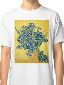 Vincent Van Gogh - Irises, May 1890 - 1890  Classic T-Shirt
