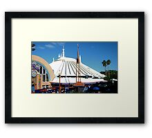 Space Mountain Framed Print