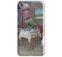 Vincent Van Gogh - Interior Of A Restaurant, 1887 01 iPhone Case/Skin