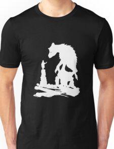 The Last - White Brush  Unisex T-Shirt