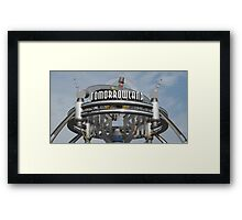 Tomorrowland Framed Print