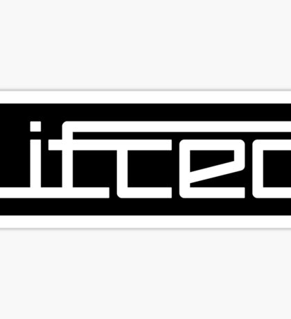Lifted Music Drum and Bass - Record Label Sticker
