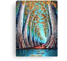 Crimson Creek Canvas Print